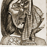 1937 La femme qui pleure I , Pablo Picasso (1881-1973) Period of creation: 1931-1942