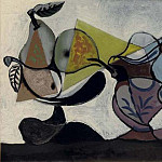 1936 Nature morte aux fruits, Pablo Picasso (1881-1973) Period of creation: 1931-1942
