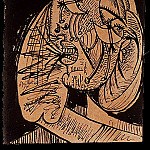1937 La femme qui pleure 5, Pablo Picasso (1881-1973) Period of creation: 1931-1942