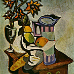 1936 Nature morte, Pablo Picasso (1881-1973) Period of creation: 1931-1942