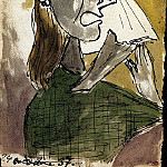 1937 La femme qui pleure 11, Pablo Picasso (1881-1973) Period of creation: 1931-1942