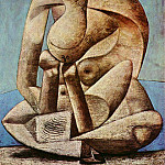 1937 Grande baigneuse au livre1, Pablo Picasso (1881-1973) Period of creation: 1931-1942