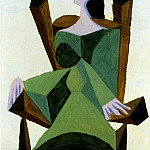 1939 Femme assise sur une chaise, Pablo Picasso (1881-1973) Period of creation: 1931-1942