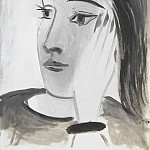 1942 Portrait de Dora Maar 1, Pablo Picasso (1881-1973) Period of creation: 1931-1942