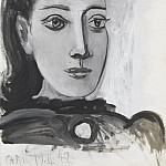 1942 Portrait de Dora Maar 2, Pablo Picasso (1881-1973) Period of creation: 1931-1942