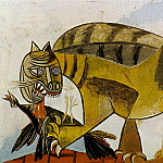 1939 Le chat Е loiseau, Pablo Picasso (1881-1973) Period of creation: 1931-1942