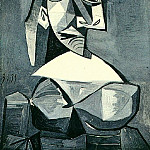 1939 Buste de femme au chapeau 1, Pablo Picasso (1881-1973) Period of creation: 1931-1942