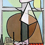 Pablo Picasso (1881-1973) Period of creation: 1931-1942 - 1932 Buste de femme de profil