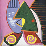 Pablo Picasso (1881-1973) Period of creation: 1931-1942 - 1934 Profil Е la fenИtre