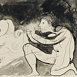 Pablo Picasso (1881-1973) Period of creation: 1931-1942 - 1932 Le joueur de flЦte