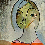 Pablo Picasso (1881-1973) Period of creation: 1931-1942 - 1936 Buste de femme
