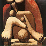 1932 Femme au fauteuil rouge, Pablo Picasso (1881-1973) Period of creation: 1931-1942