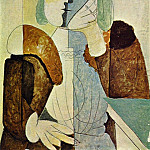 Pablo Picasso (1881-1973) Period of creation: 1931-1942 - 1937 Portrait de femme au bВret2