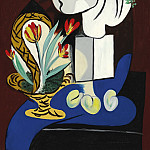 1932 Nature morte aux tulipes, Pablo Picasso (1881-1973) Period of creation: 1931-1942