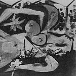 Pablo Picasso (1881-1973) Period of creation: 1931-1942 - 1932 Nu couchВ3