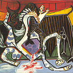 Pablo Picasso (1881-1973) Period of creation: 1931-1942 - 1934 Courses de taureaux (Corrida)