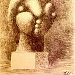1932 Sculpture dune tИte [Marie-ThВrКse], Pablo Picasso (1881-1973) Period of creation: 1931-1942