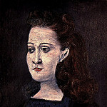 1941 Femme Е la collerette bleue , Pablo Picasso (1881-1973) Period of creation: 1931-1942