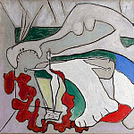 1931 La femme au stylet , Pablo Picasso (1881-1973) Period of creation: 1931-1942