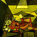 Pablo Picasso (1881-1973) Period of creation: 1931-1942 - 1942 Nature morte