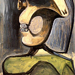 1940 Buste de figure fВminine 1, Pablo Picasso (1881-1973) Period of creation: 1931-1942