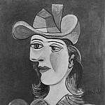 Pablo Picasso (1881-1973) Period of creation: 1931-1942 - 1938 Buste de femme (Dora Maar) 3