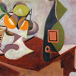 1936 Nature morte au citron et aux oranges, Pablo Picasso (1881-1973) Period of creation: 1931-1942