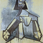 1941 Femme en gris et blanc, Pablo Picasso (1881-1973) Period of creation: 1931-1942