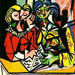 Pablo Picasso (1881-1973) Period of creation: 1931-1942 - 1934 Deux personnages 1