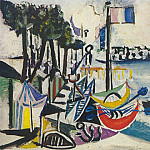 1937 Paysage de Juan-les-Pins, Pablo Picasso (1881-1973) Period of creation: 1931-1942