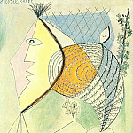 Pablo Picasso (1881-1973) Period of creation: 1931-1942 - 1936 Personnage au coquillage [TИte de femme]
