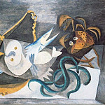 Pablo Picasso (1881-1973) Period of creation: 1931-1942 - 1940 Nature morte aux poissons