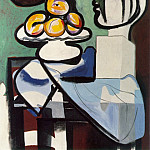 Pablo Picasso (1881-1973) Period of creation: 1931-1942 - 1932 Nature morte- Buste, coupe et palette
