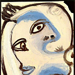 1939 TИte de femme 2, Pablo Picasso (1881-1973) Period of creation: 1931-1942
