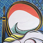1932 Le miroir, Pablo Picasso (1881-1973) Period of creation: 1931-1942