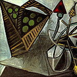 Pablo Picasso (1881-1973) Period of creation: 1931-1942 - 1942 Nature morte au panier de fruits