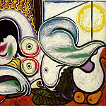 Pablo Picasso (1881-1973) Period of creation: 1931-1942 - 1932 Nu couchВ
