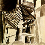 1942 Chaise, Pablo Picasso (1881-1973) Period of creation: 1931-1942
