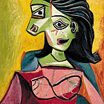1940 Buste de femme 3, Pablo Picasso (1881-1973) Period of creation: 1931-1942