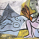 Pablo Picasso (1881-1973) Period of creation: 1931-1942 - 1932 Les amants