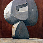 Pablo Picasso (1881-1973) Period of creation: 1931-1942 - 1931 Buste de personnage