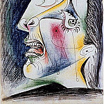 1937 La femme qui pleure 0, Pablo Picasso (1881-1973) Period of creation: 1931-1942