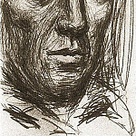 1940 Autoportrait 1, Pablo Picasso (1881-1973) Period of creation: 1931-1942