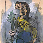1941 Femme Е lartichaut, Pablo Picasso (1881-1973) Period of creation: 1931-1942