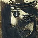 1939 Portrait de Dora Maar au chapeau, Pablo Picasso (1881-1973) Period of creation: 1931-1942