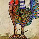 1938 Le coq, Pablo Picasso (1881-1973) Period of creation: 1931-1942