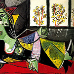 1939 Femme allongВe sur un divan , Pablo Picasso (1881-1973) Period of creation: 1931-1942