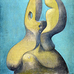 Pablo Picasso (1881-1973) Period of creation: 1931-1942 - 1931 Visage sculptural
