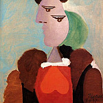 1937 Portrait de femme, Pablo Picasso (1881-1973) Period of creation: 1931-1942