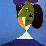 Pablo Picasso (1881-1973) Period of creation: 1931-1942 - 1935 Buste de femme